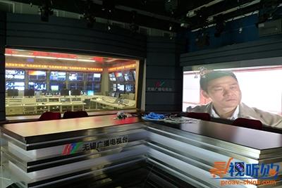 电视台背景墙是电视直播的重要